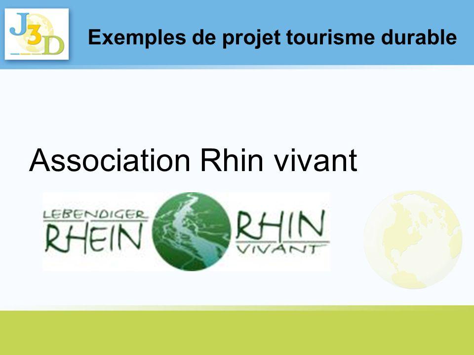 Exemples de projet tourisme durable
