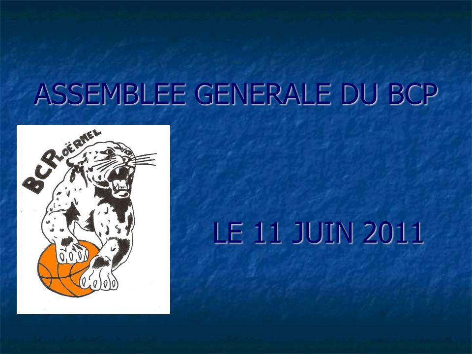 ASSEMBLEE GENERALE DU BCP