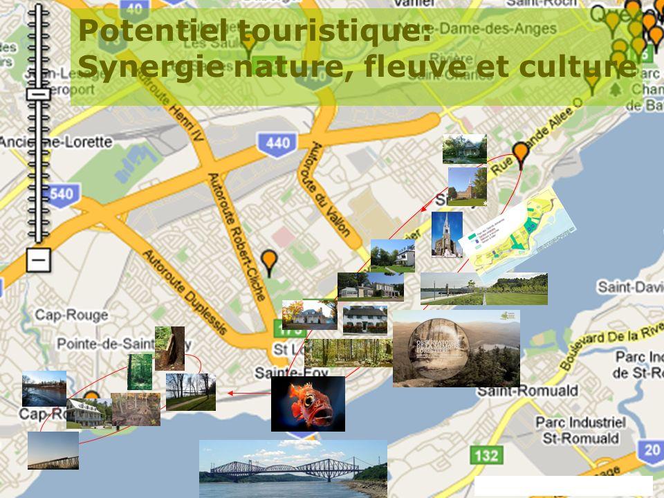 Potentiel touristique: Synergie nature, fleuve et culture