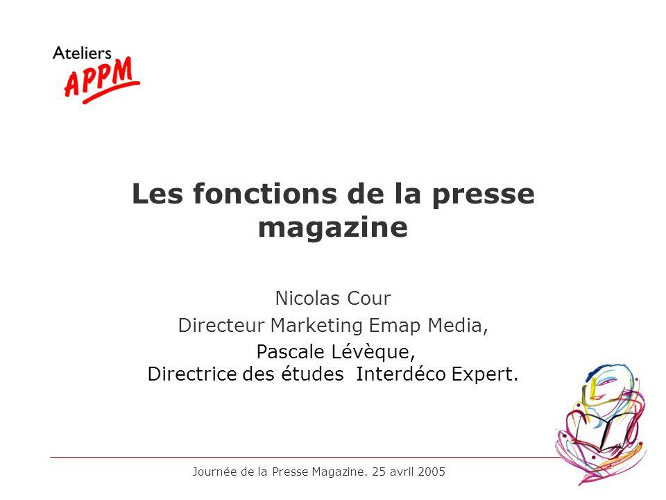 Les fonctions de la presse magazine