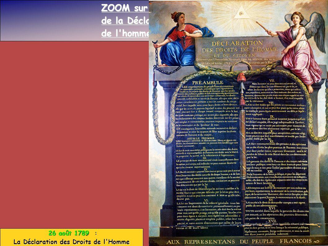 La Déclaration des Droits de l Homme