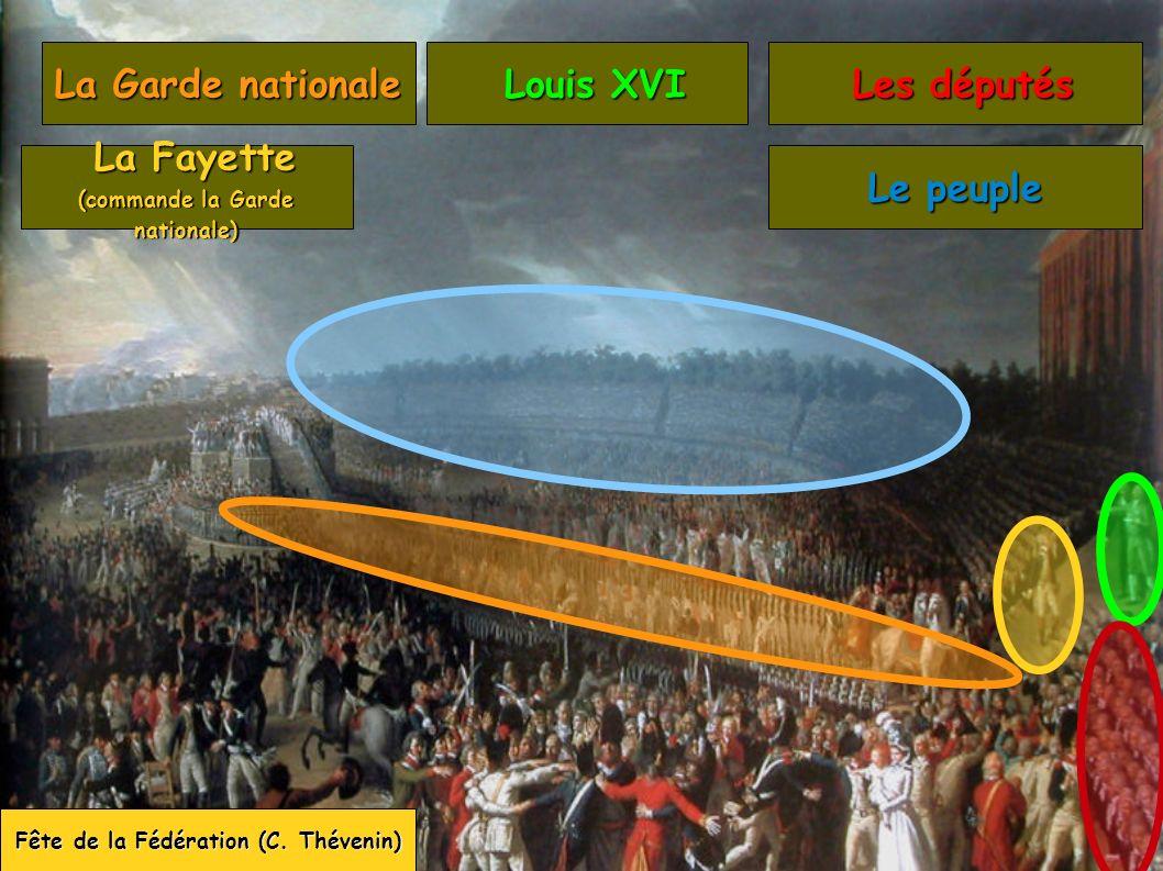 (commande la Garde nationale) Fête de la Fédération (C. Thévenin)
