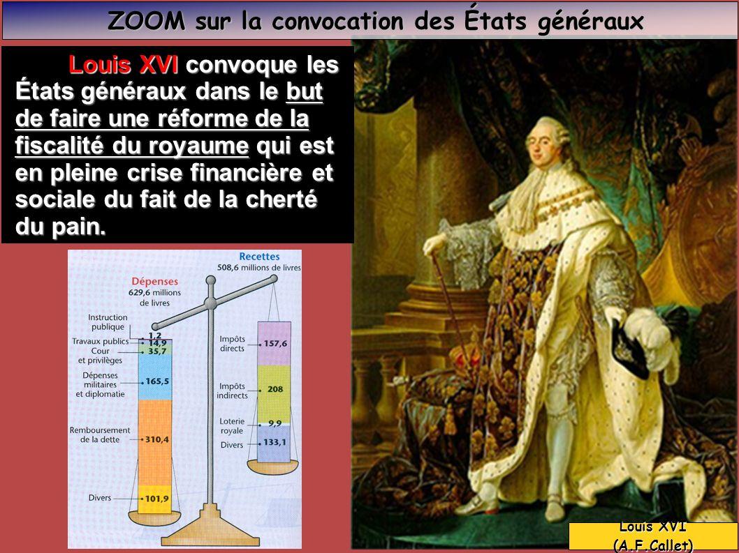 ZOOM sur la convocation des États généraux