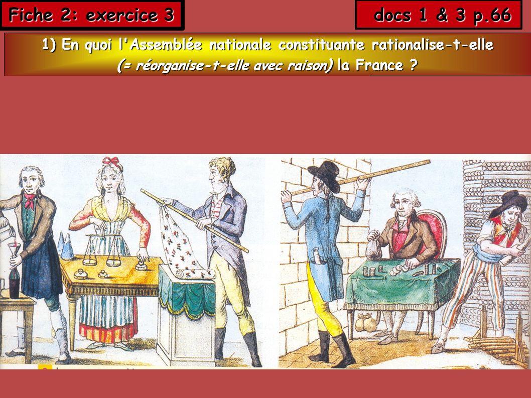 Fiche 2: exercice 3 docs 1 & 3 p.66