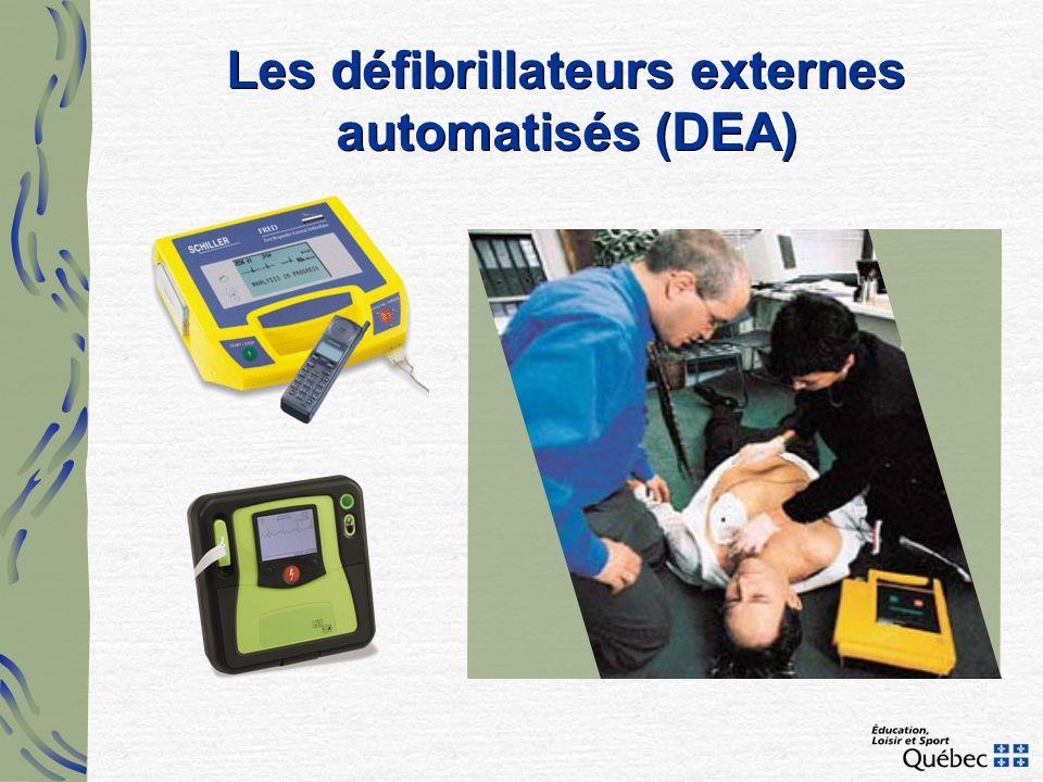 Les défibrillateurs externes automatisés (DEA)