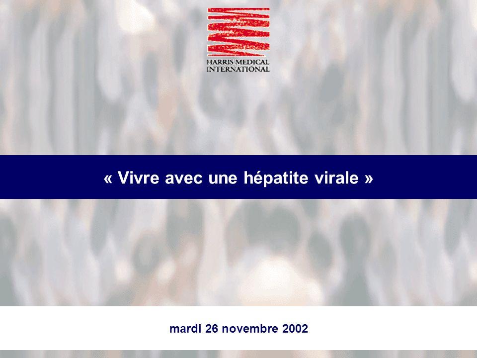 « Vivre avec une hépatite virale »