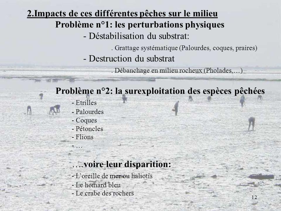 2.Impacts de ces différentes pêches sur le milieu