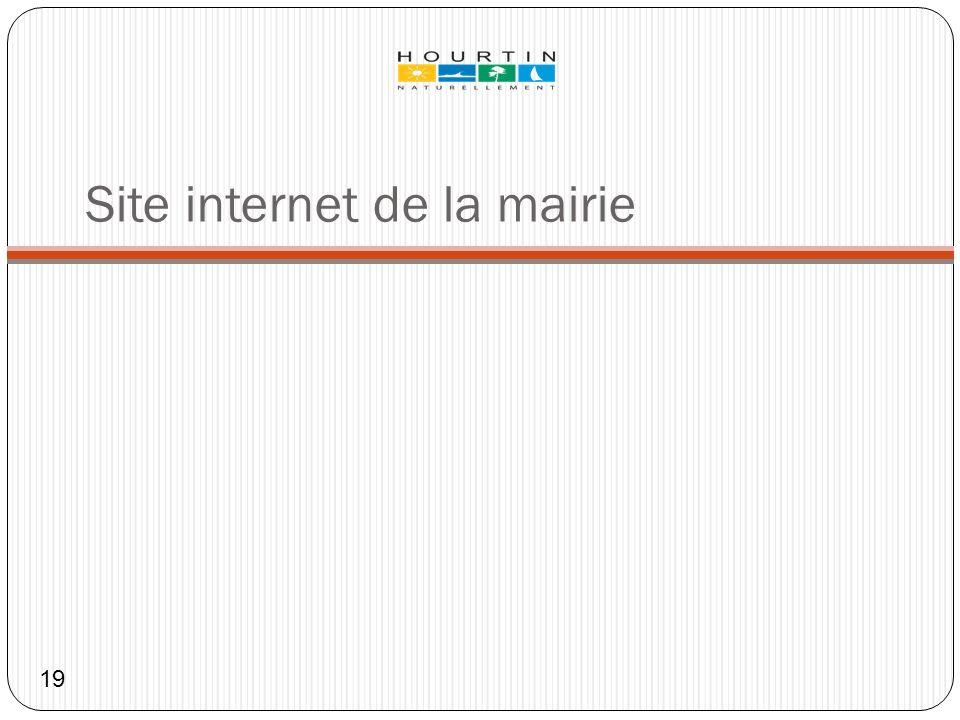 Site internet de la mairie
