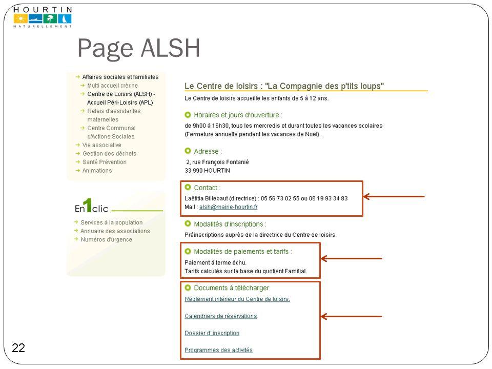 Page ALSH DL
