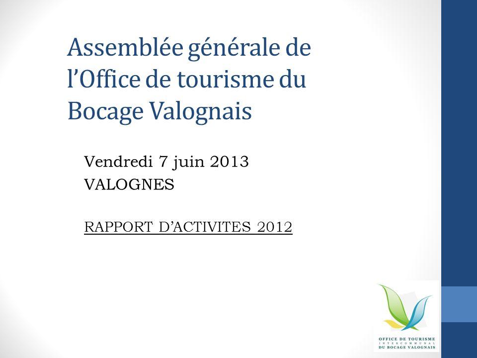 Assemblée générale de l'Office de tourisme du Bocage Valognais