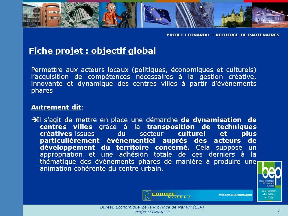 Bureau Economique de la Province de Namur (BEP)