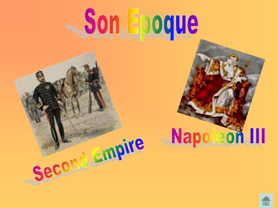 Son Epoque Napoleon III Second Empire