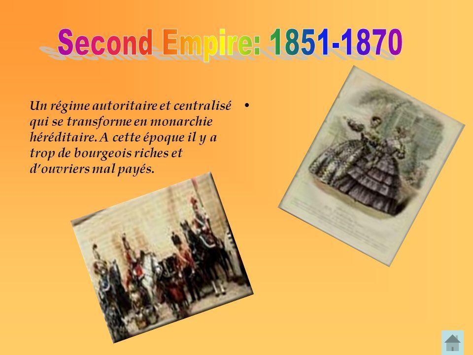 Second Empire: 1851-1870