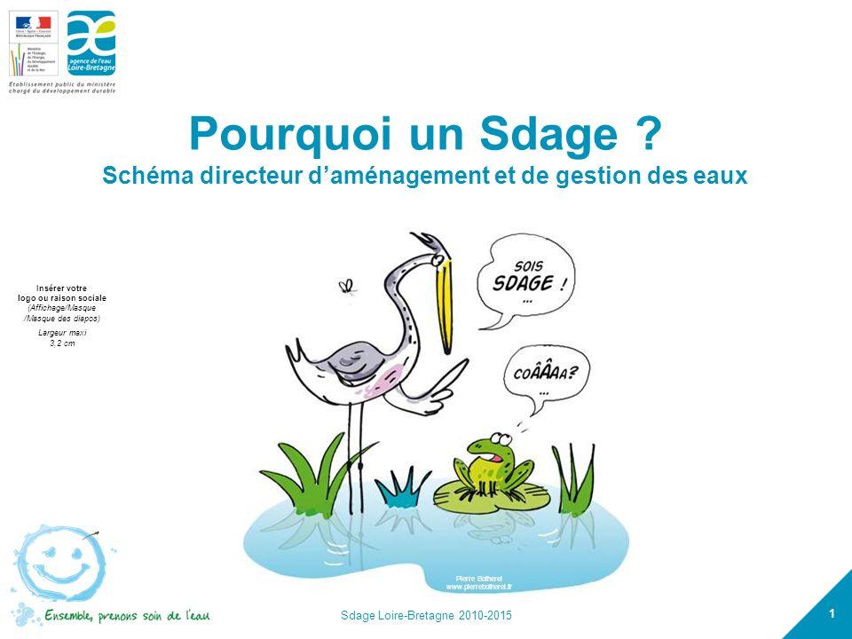 Pourquoi un Sdage Schéma directeur d'aménagement et de gestion des eaux