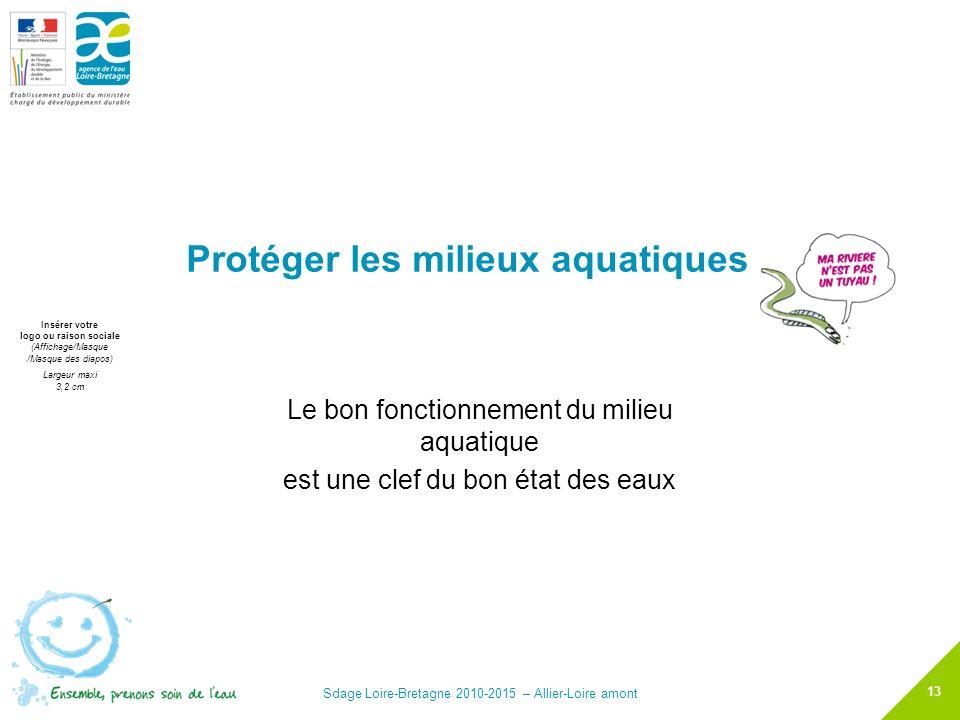 Protéger les milieux aquatiques