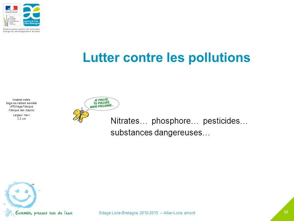 Lutter contre les pollutions