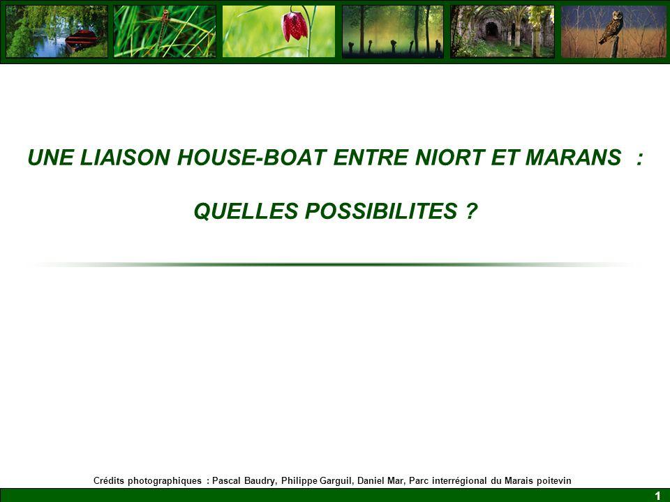 UNE LIAISON HOUSE-BOAT ENTRE NIORT ET MARANS : QUELLES POSSIBILITES