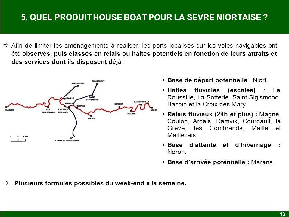 5. QUEL PRODUIT HOUSE BOAT POUR LA SEVRE NIORTAISE