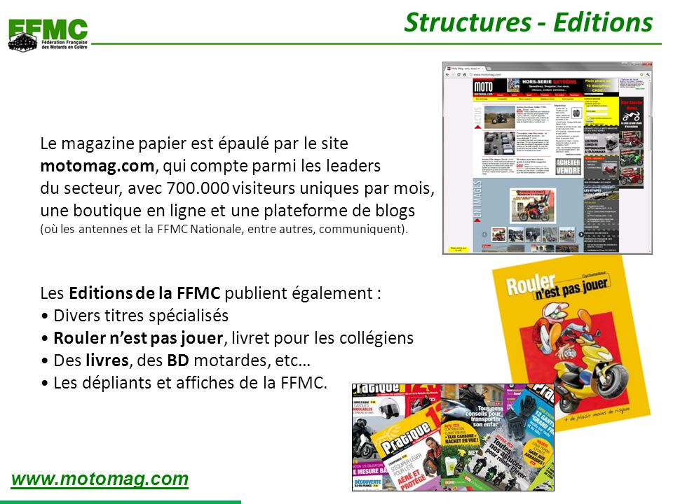 Structures - Editions