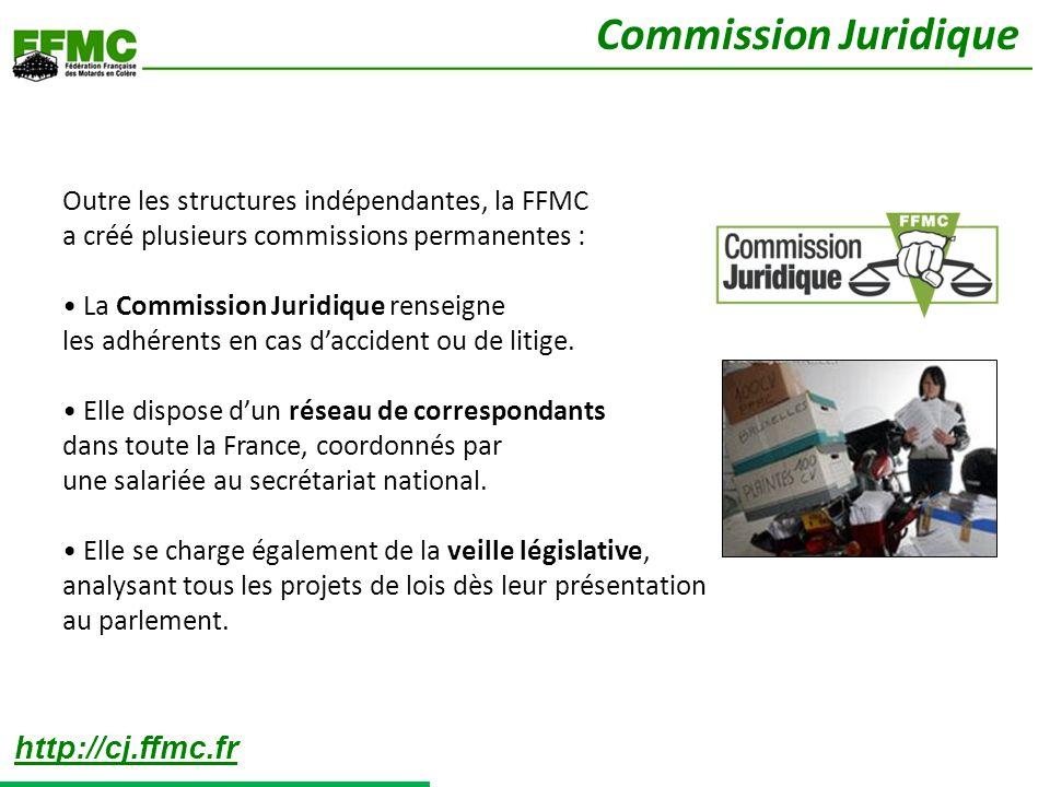 Commission Juridique http://cj.ffmc.fr