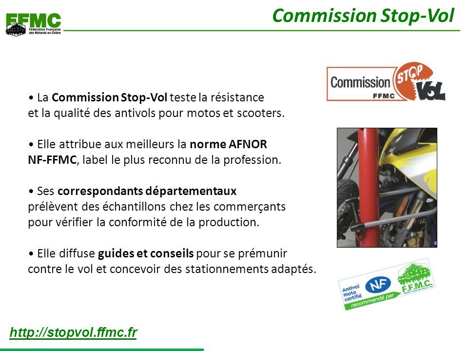 Commission Stop-Vol