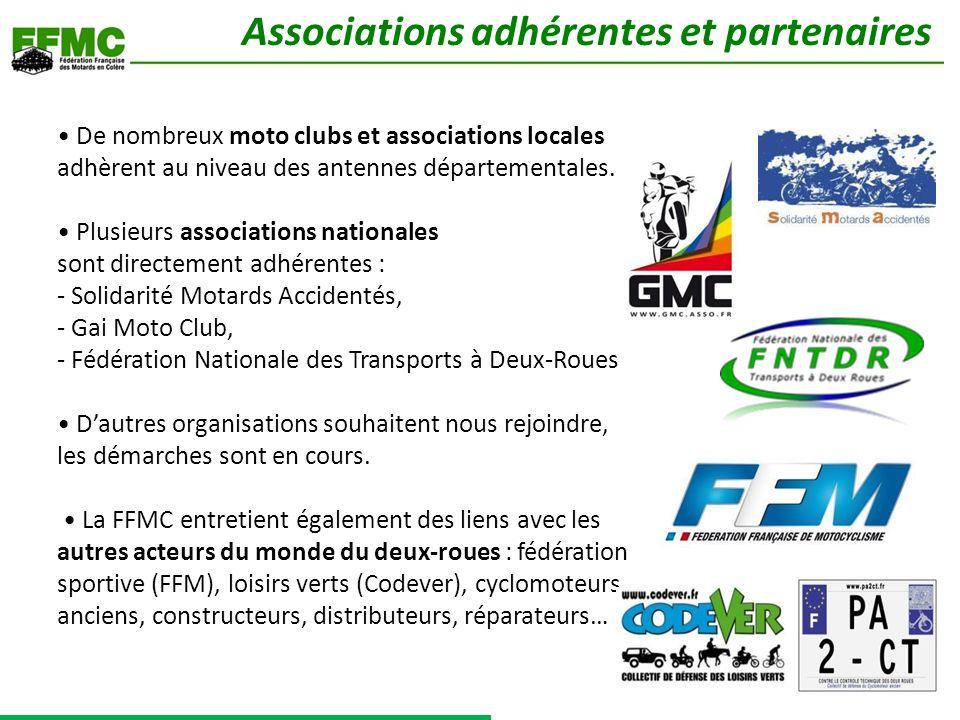 Associations adhérentes et partenaires