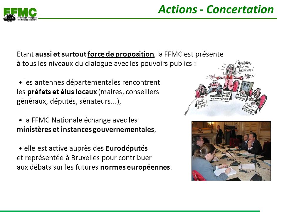 Actions - Concertation