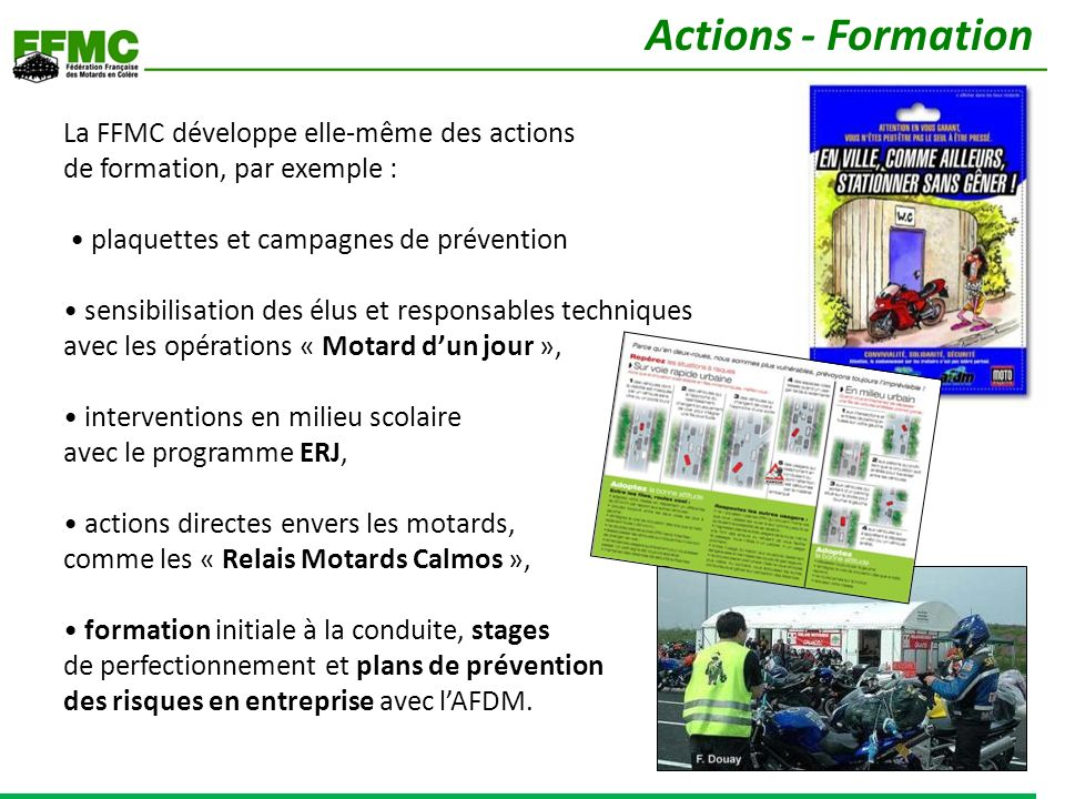 Actions - Formation