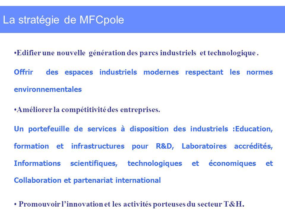 La stratégie de MFCpole