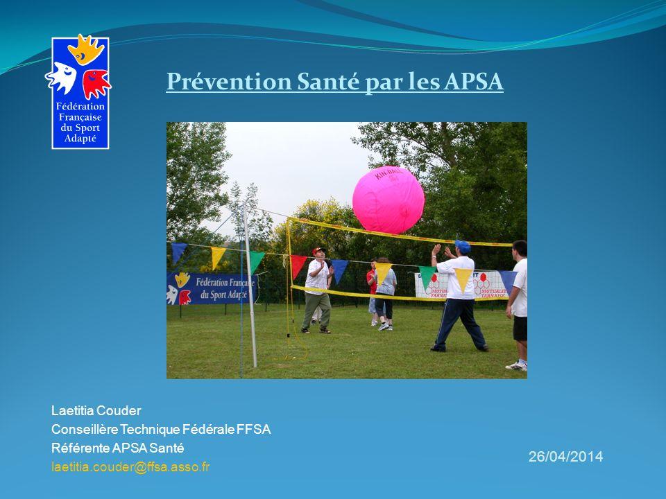 Prévention Santé par les APSA