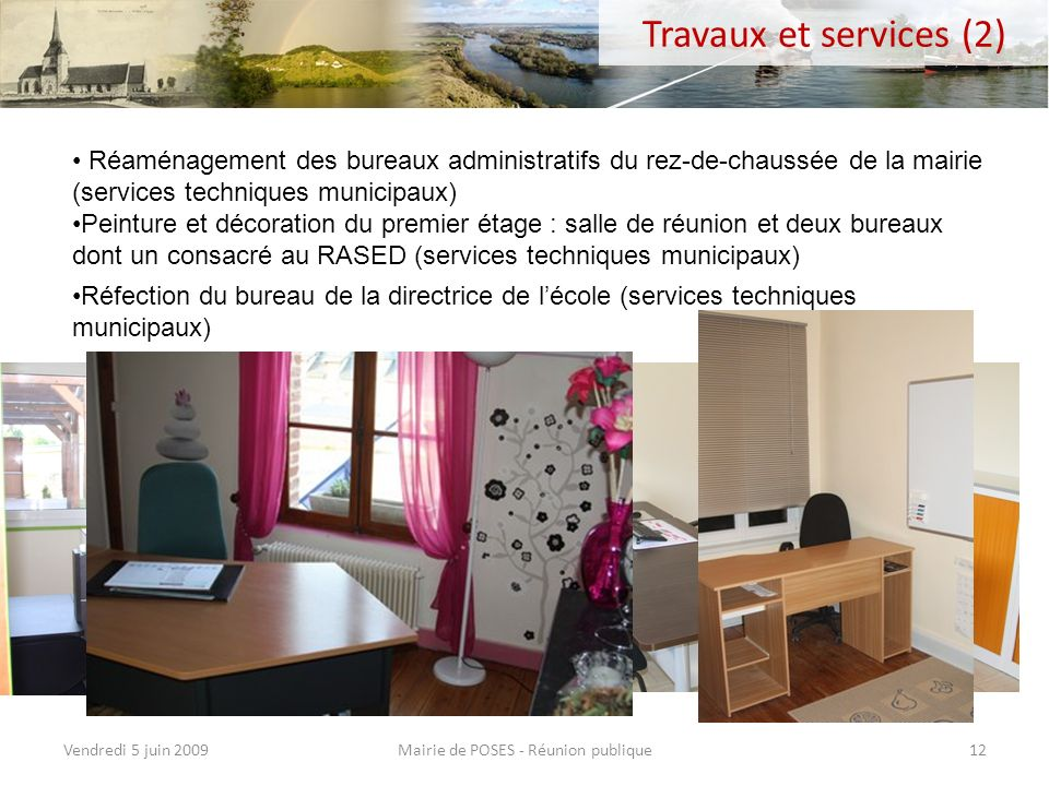 Mairie de POSES - Réunion publique
