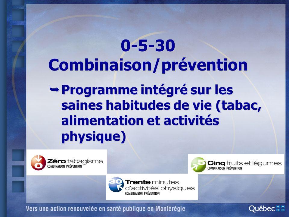 0-5-30 Combinaison/prévention