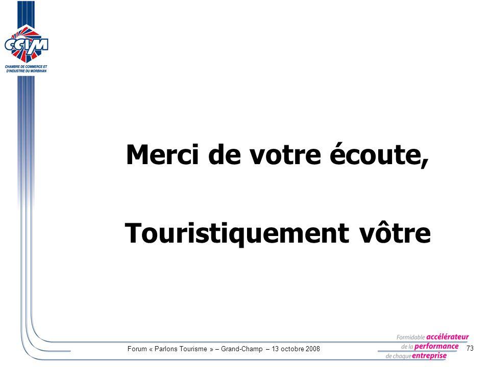 Touristiquement vôtre