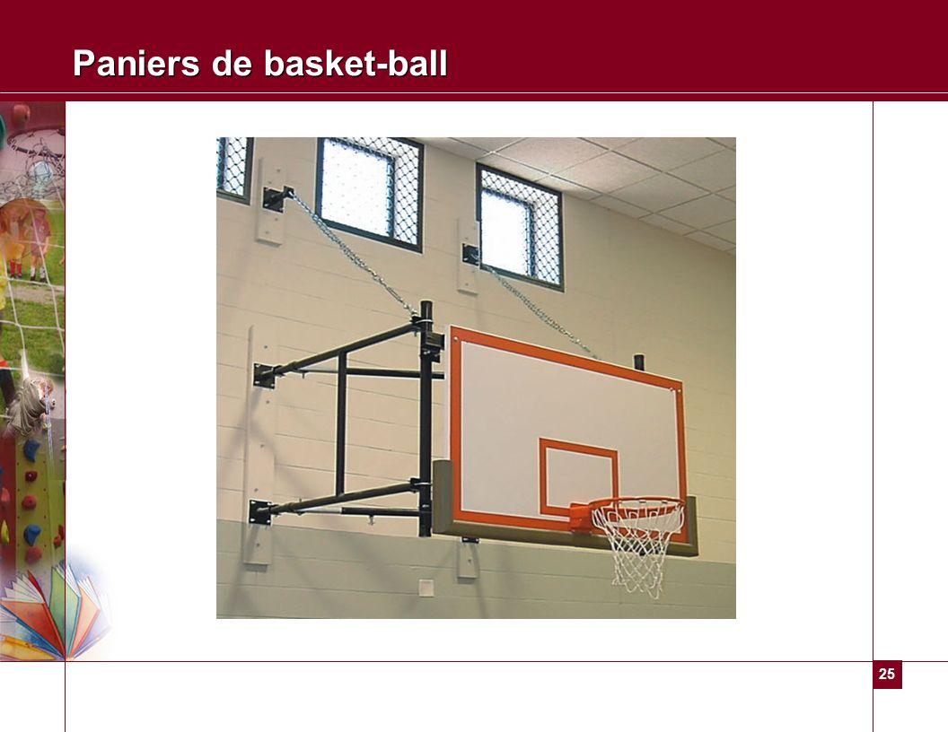 Paniers de basket-ball