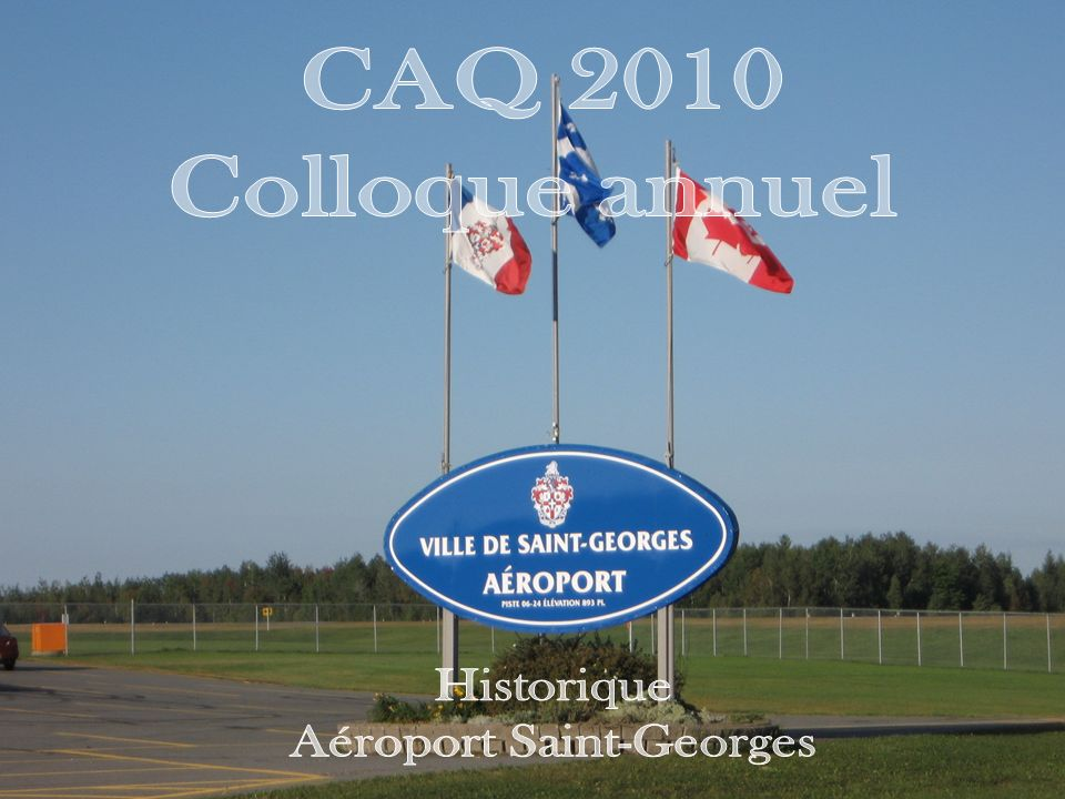 Aéroport Saint-Georges