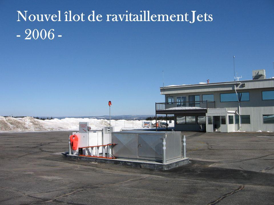 Nouvel îlot de ravitaillement Jets - 2006 -