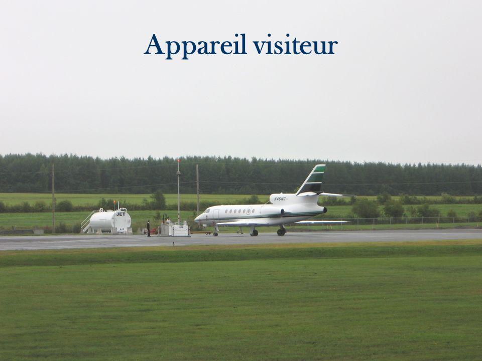 Appareil visiteur