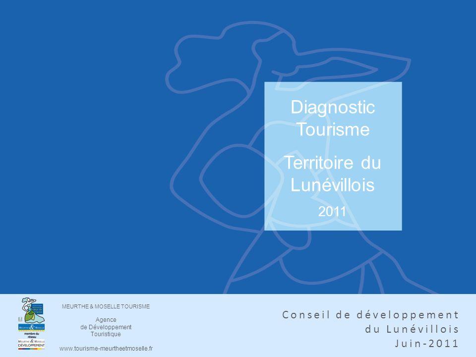Diagnostic Tourisme Territoire du Lunévillois 2011