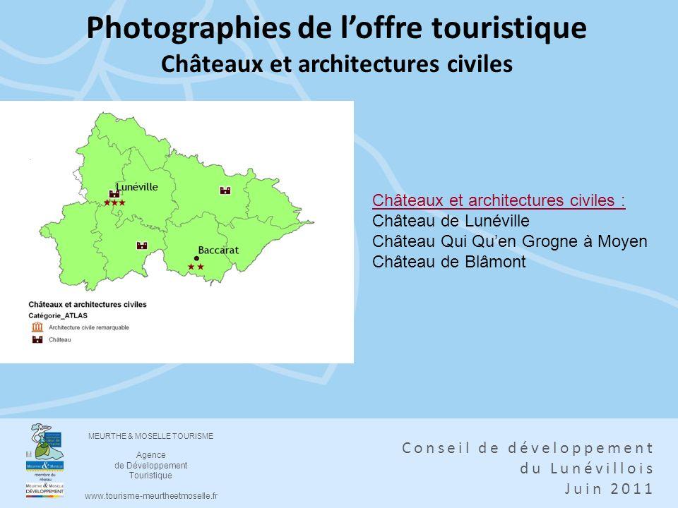 Photographies de l'offre touristique Châteaux et architectures civiles