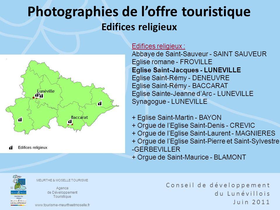 Photographies de l'offre touristique Edifices religieux