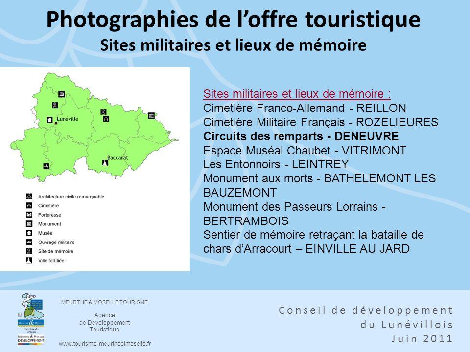 Photographies de l'offre touristique Sites militaires et lieux de mémoire