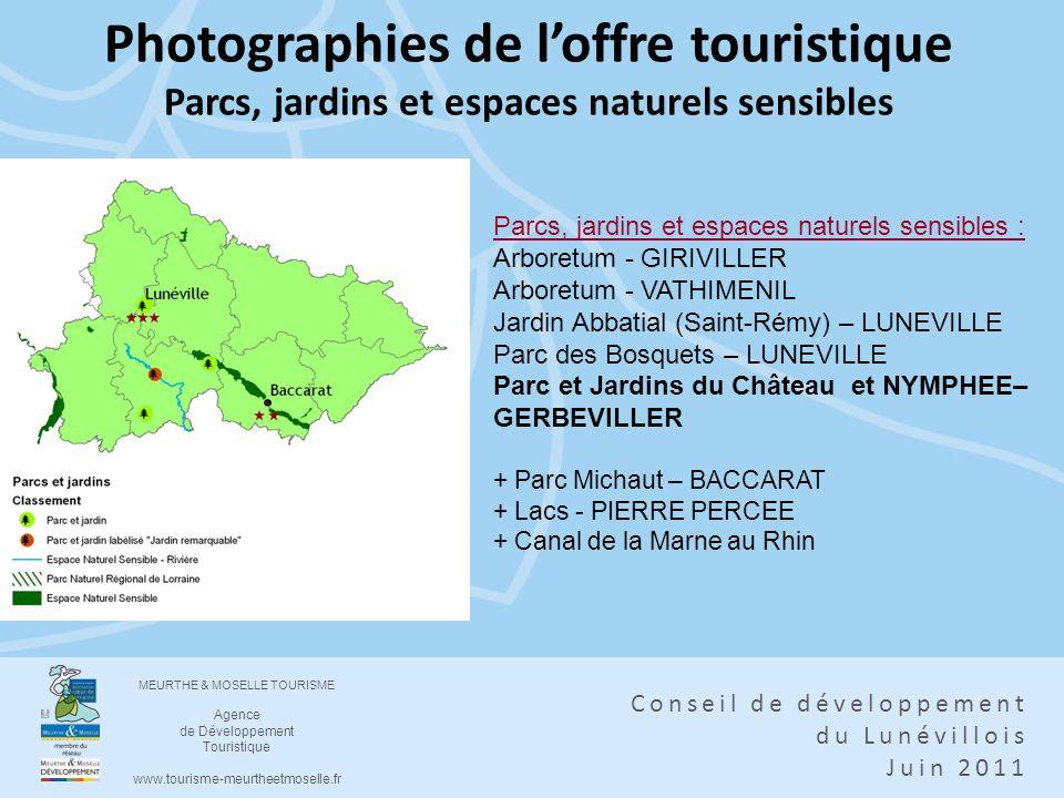 Photographies de l'offre touristique Parcs, jardins et espaces naturels sensibles