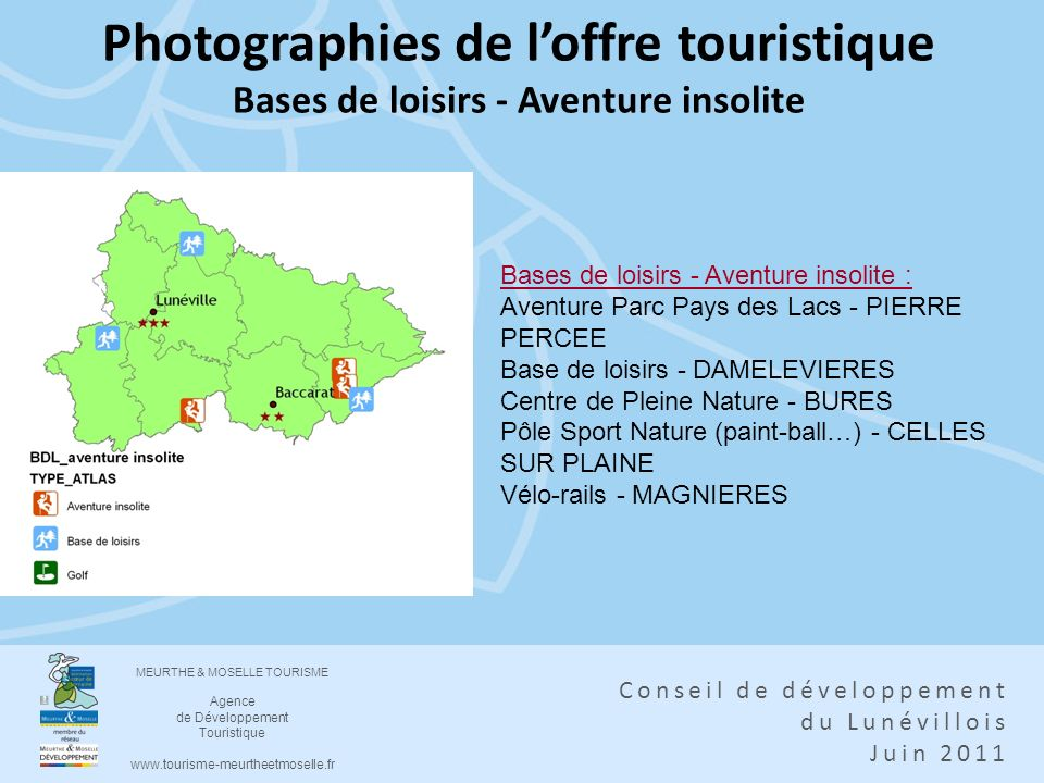 Photographies de l'offre touristique Bases de loisirs - Aventure insolite