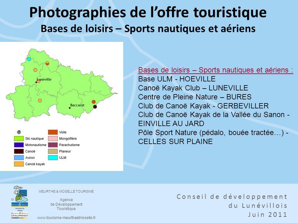 Photographies de l'offre touristique Bases de loisirs – Sports nautiques et aériens