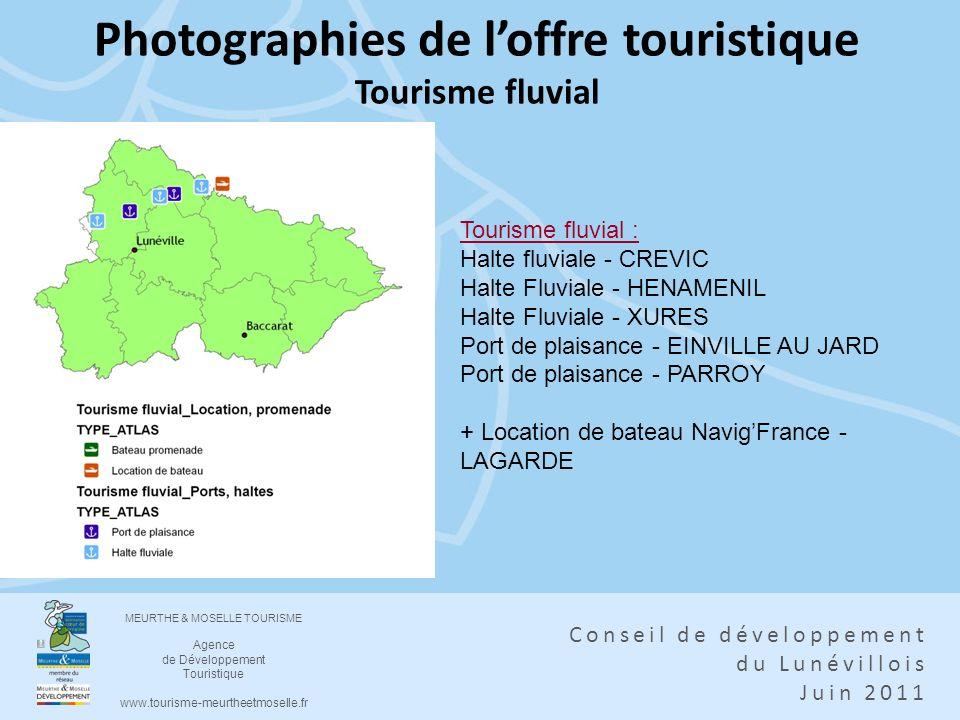 Photographies de l'offre touristique Tourisme fluvial