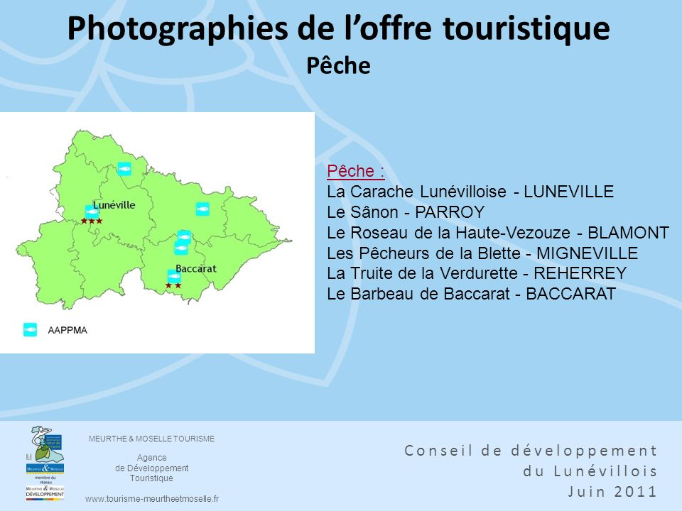 Photographies de l'offre touristique Pêche