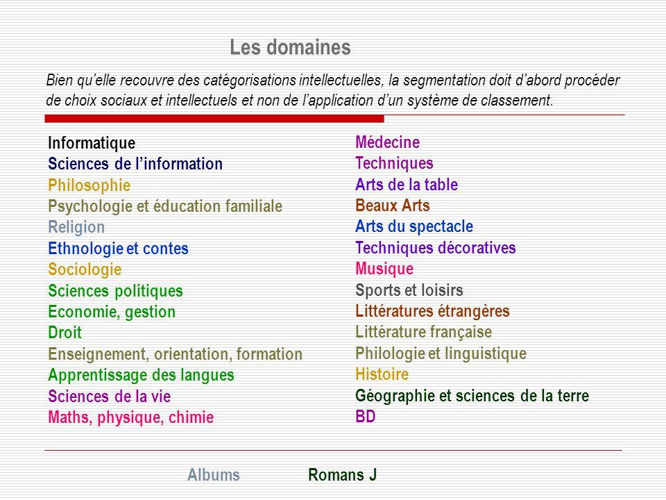 Les domaines Informatique Médecine Sciences de l'information