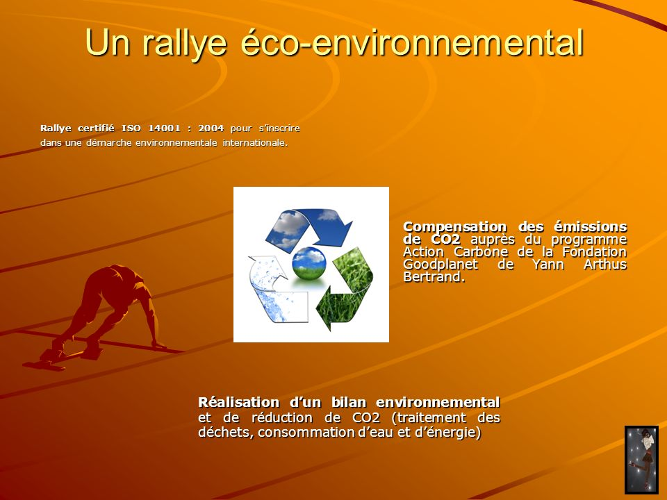Un rallye éco-environnemental