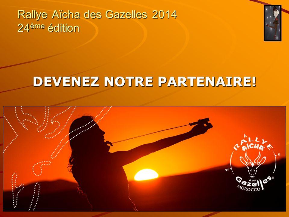 Rallye Aïcha des Gazelles 2014 24ème édition