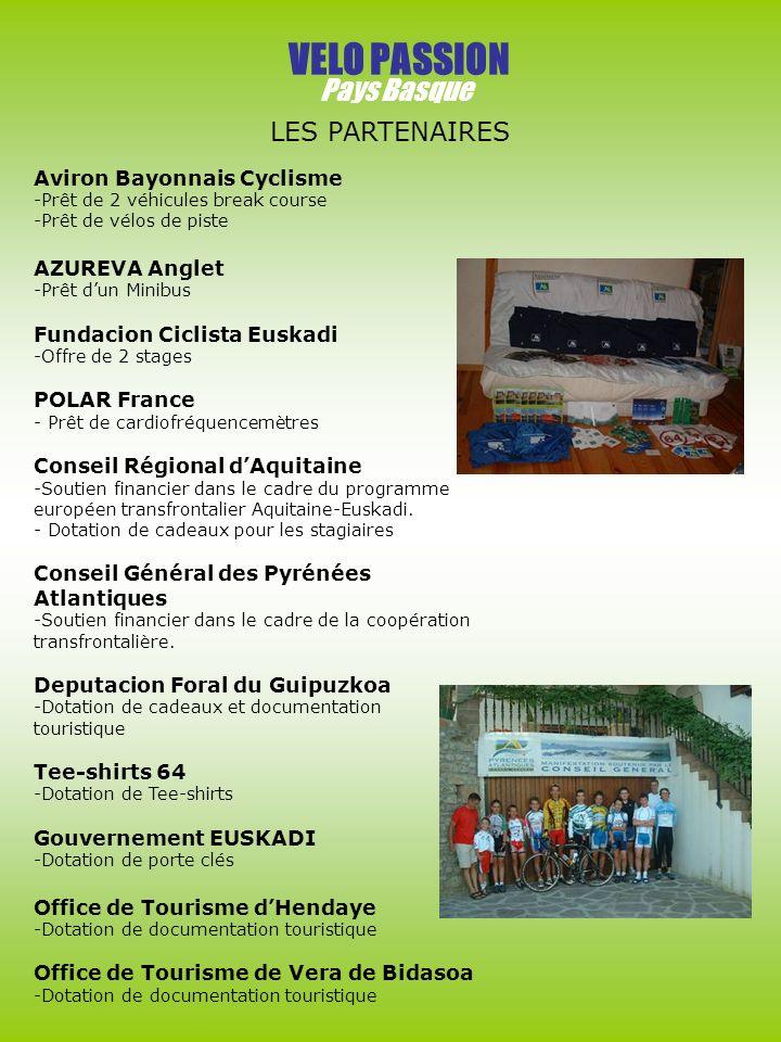 VELO PASSION Pays Basque LES PARTENAIRES Aviron Bayonnais Cyclisme